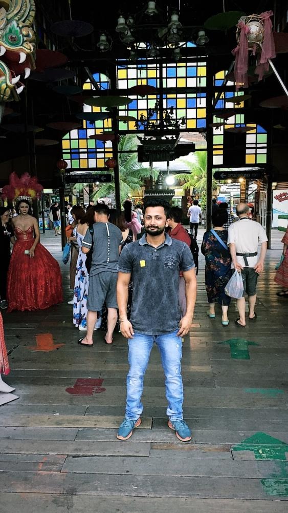 Atinder S Gill in Pattaya, Thailand